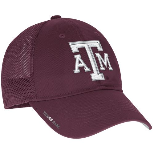 adidas™ Men's Texas A&M University Coach Flex Meshback