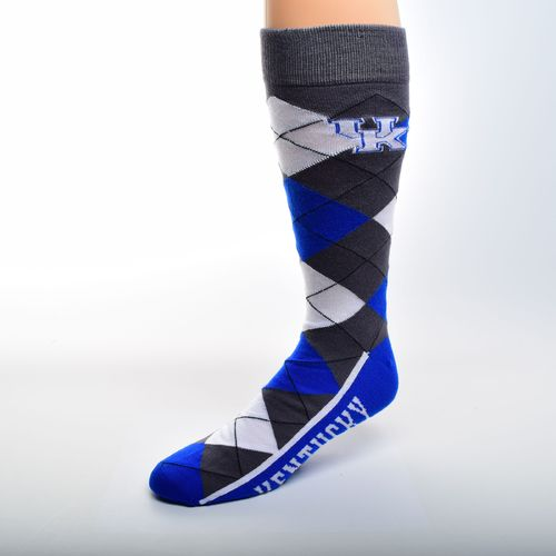 FBF Originals Adults' University of Kentucky Team Pride Flag Top Dress Socks