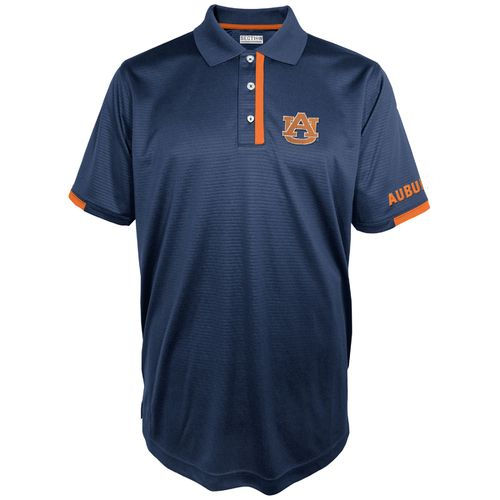 Majestic Men's Auburn University Section 101 First Down Polo Shirt