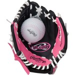 Rawlings Youth Players Series 9 in T-ball Glove with Ball - view number 2
