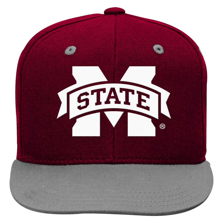 adidas™ Boys' Mississippi State University Snapback Cap