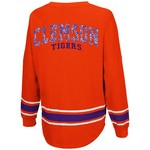 Colosseum Athletics™ Women's Clemson University My Boyfriend Varsity Pullover