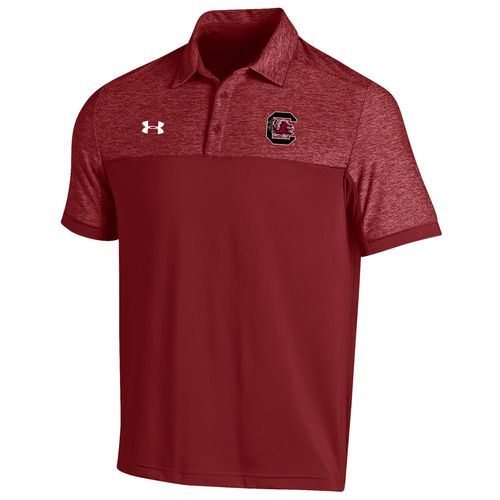 Under Armour™ Men's University of South Carolina Sideline Podium Polo Shirt