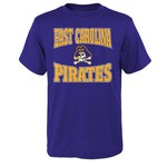 NCAA Youth East Carolina State University Clean Turf T-shirt - view number 1