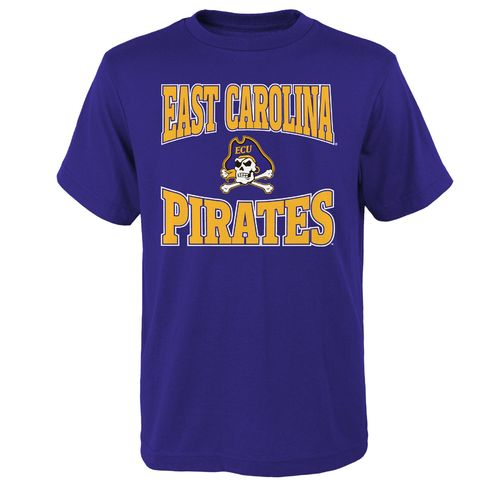 NCAA Youth East Carolina State University Clean Turf T-shirt