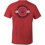 Image One Men's University of Louisiana at Lafayette Comfort Color Rounds T-shirt