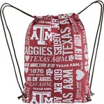 Forever Collectibles™ Women's Texas A&M University Drawstring Backpack