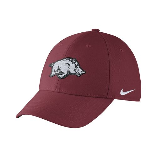 Nike Men's University of Arkansas Swoosh Flex Cap