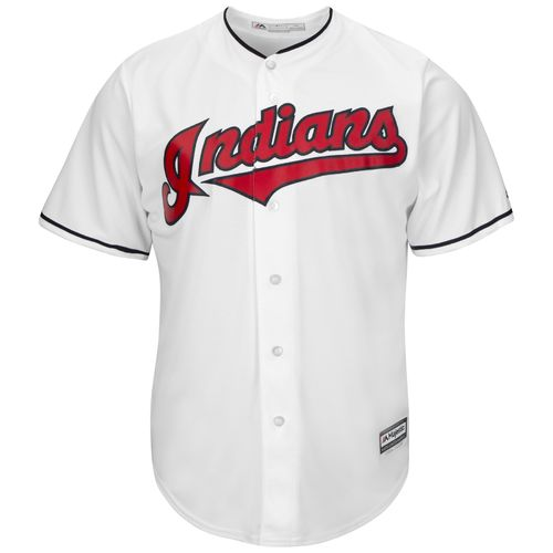 Majestic Men's Cleveland Indians Bob Feller #19 Cool Base Replica Jersey - view number 3
