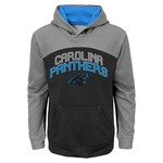 NFL Boys' Carolina Panthers Arc Pullover Hoodie