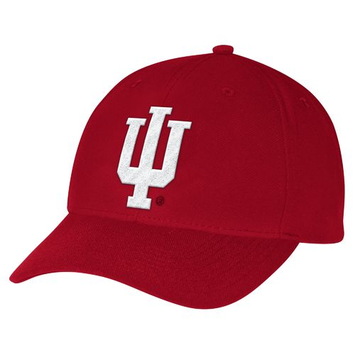 adidas™ Men's Indiana University Structured Adjustable Cap