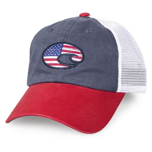 Costa Del Mar Adults' United Trucker Hat