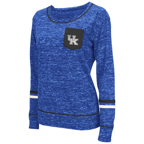Colosseum Athletics™ Women's University of Kentucky Homies Raw Edge Long Sleeve Shirt
