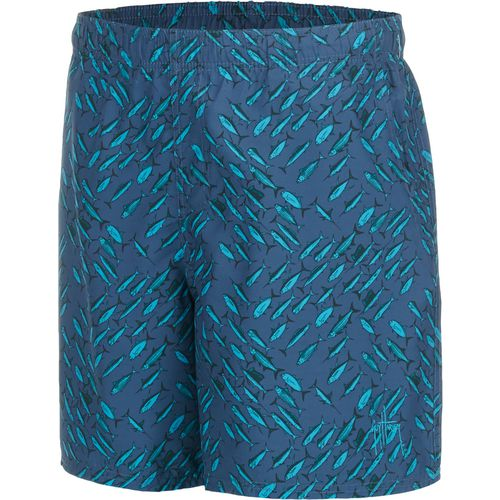 Guy Harvey Men's Fishtrix Volley Swim Short
