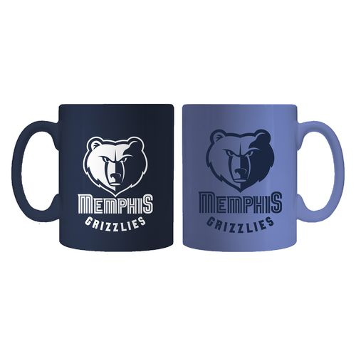 Boelter Brands Memphis Grizzlies Home and Away 11 oz. Mug Set
