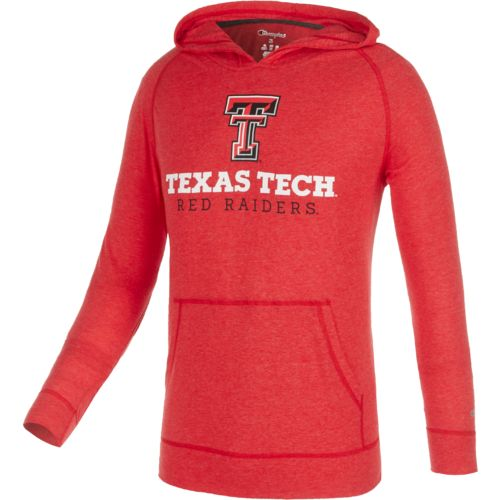 Champion™ Men's Texas Tech University Raglan Pullover Hoodie