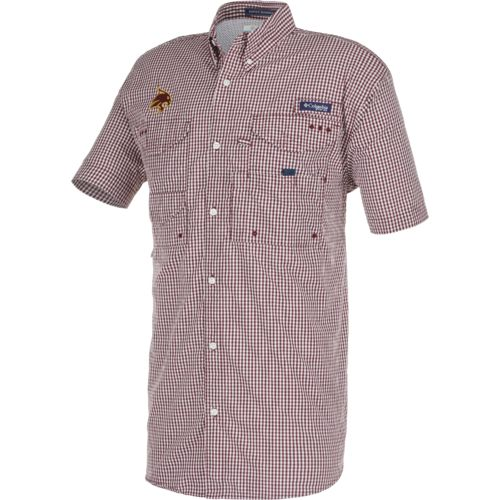 Columbia Sportswear™ Men's Texas State University Super Bonehead™ Shirt