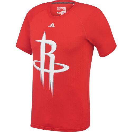 adidas Men's Houston Rockets Huge Preferred Logo T-shirt
