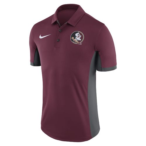 Nike Men's Florida State University Dri-FIT Evergreen Polo Shirt - view number 1