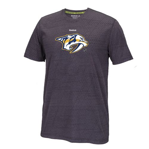 Reebok Men's Nashville Predators Center Ice Performance T-shirt