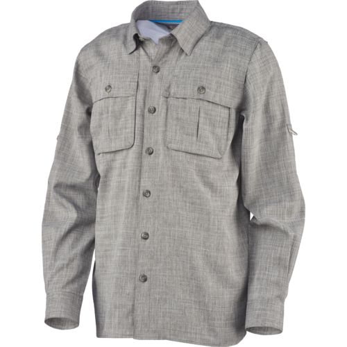 Magellan Outdoors Boys' Fish Gear Back Country Long Sleeve Fishing Shirt