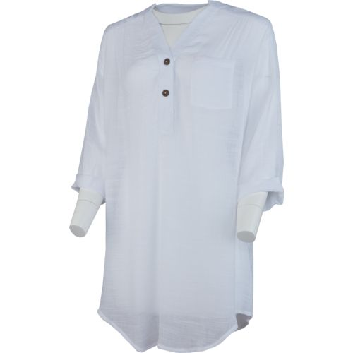 O'Rageous Women's Pullover Shirtdress Cover-Up