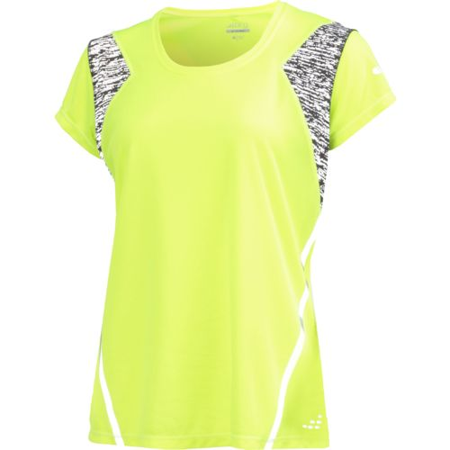 BCG Women's BioViz Short Sleeve V-neck Running Top - view number 2