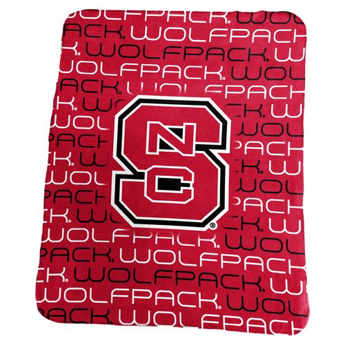Logo™ North Carolina State University 50' x 60' Classic Fleece Blanket