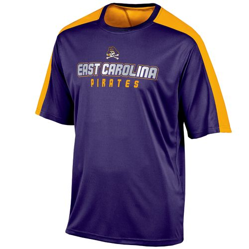 Champion™ Men's East Carolina University Colorblock T-shirt