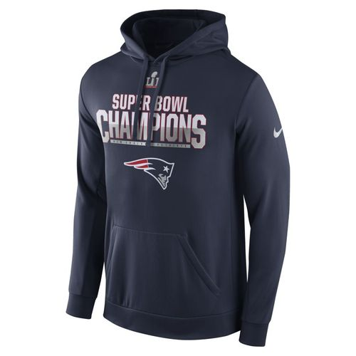 Nike Men's New England Patriots Super Bowl LI Champions Parade Hoodie