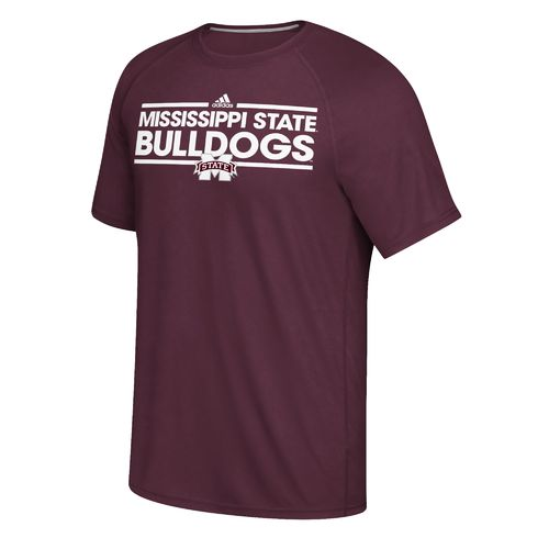 adidas Men's Mississippi State University Dassler Ultimate Short Sleeve T-shirt