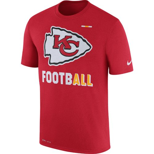 Nike™ Men's Kansas City Chiefs Dry Legend Onfield Football '17 T-shirt