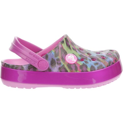Crocs™ Girls' Crocband Animal Clogs - view number 1