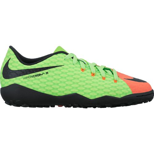 Nike Boys' Jr. Hypervenom Phelon III TF Soccer Shoes