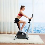 Sunny Health & Fitness Magnetic Upright Exercise Bike - view number 5