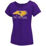 Colosseum Athletics™ Girls' East Carolina University Tissue 2017 T-shirt - view number 1