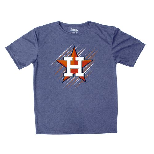Stitches Boys' Houston Astros Sidewinder Short Sleeve T-shirt