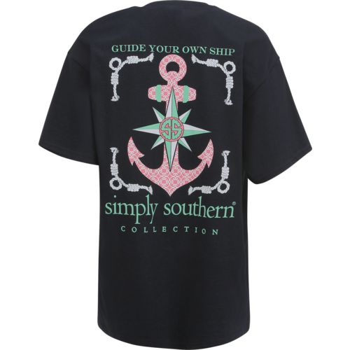 Display product reviews for Simply Southern Women's Anchor T-shirt