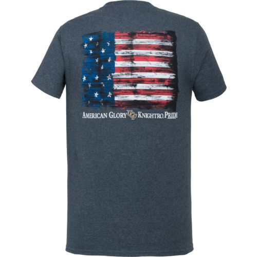 New World Graphics Men's University of Central Florida Flag Glory T-shirt - view number 1
