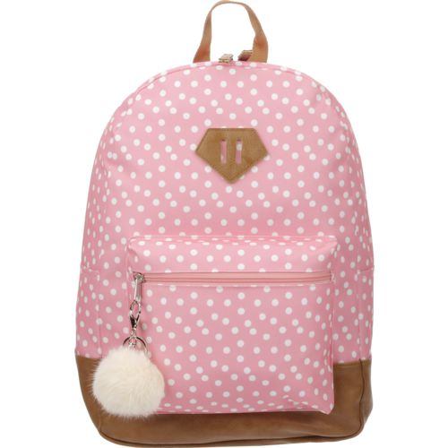 Display product reviews for A.D Sutton Girls' Vinyl Bottom Dome Backpack