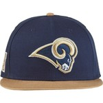 New Era Men's Los Angeles Rams 9FIFTY Baycik Snapback Cap - view number 1
