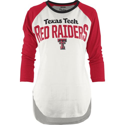 Three Squared Juniors' Texas Tech University Quin T-shirt