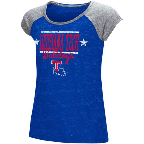 Colosseum Athletics Girls' Louisiana Tech University Sprints T-shirt