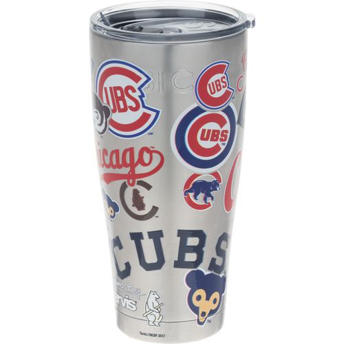 Tervis Chicago Cubs 30 oz All Over Stainless-Steel Tumbler