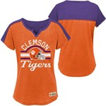 Gen2 Girls' Clemson University Tribute Football T-shirt - view number 3