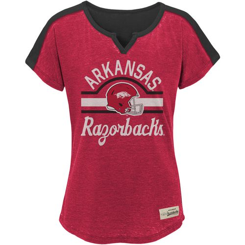 Gen2 Girls' University of Arkansas Tribute Football T-shirt