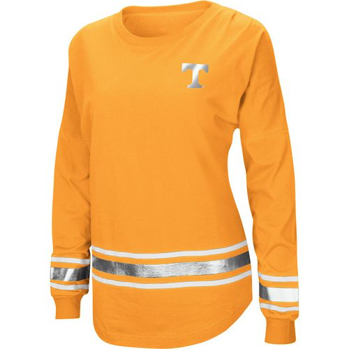 Colosseum Athletics Women's University of Tennessee Humperdinck Oversize Long Sleeve T-shirt