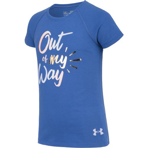 Under Armour Girls' Out of My Way Short Sleeve Training T-shirt - view number 3