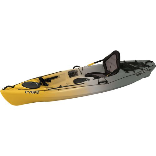 Evoke navigator 100 10 ft fishing kayak academy for Fishing kayak academy