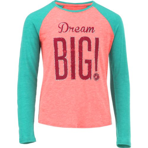 BCG Girls' Dream Big Raglan T-shirt